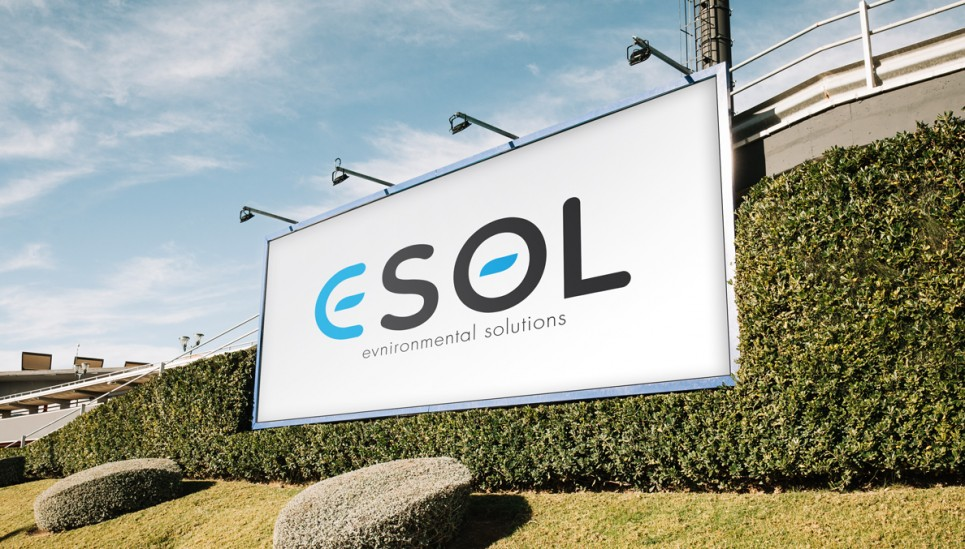 We create logotype and corporate identity for engineering company ESOL.